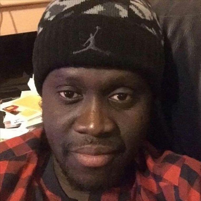 Cheikh Konte. Beeld rv