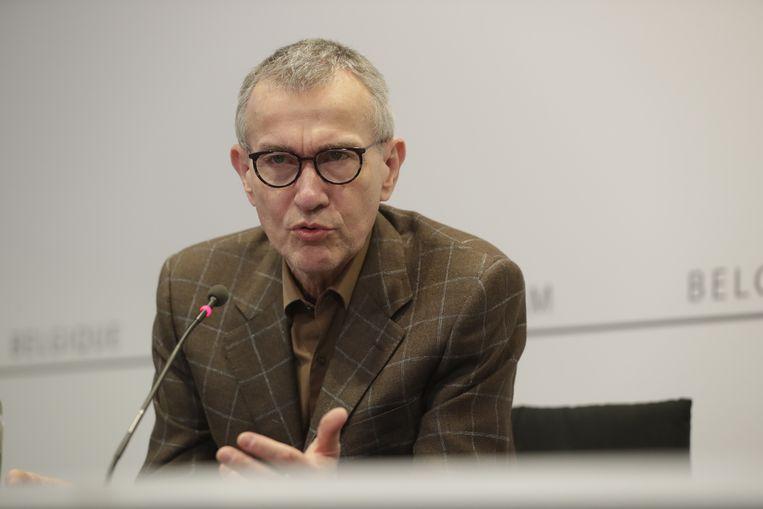 Federaal minister van Gezondheid Frank Vandenbroucke op archiefbeeld. Beeld EPA