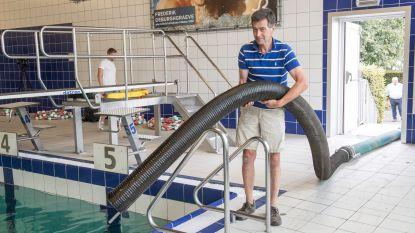 Zwembadwater redt sla en komkommers