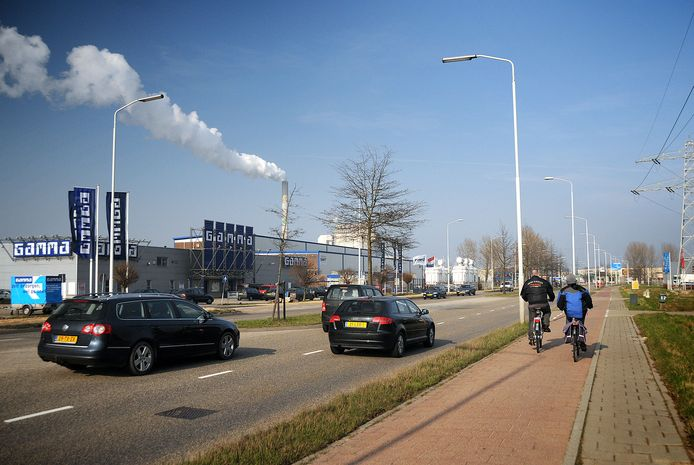 De Energieweg in Nijmegen. Archieffoto