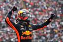Max Verstappen wint de Grand Prix van Mexico in 2018 op het Autódromo Hermanos Rodríguez-circuit.
