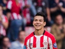 PSV gaat oefenduel afwerken met vorige club Hirving Lozano