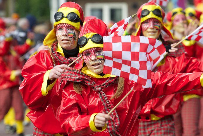 Archiefbeeld van carnaval in Raalte.