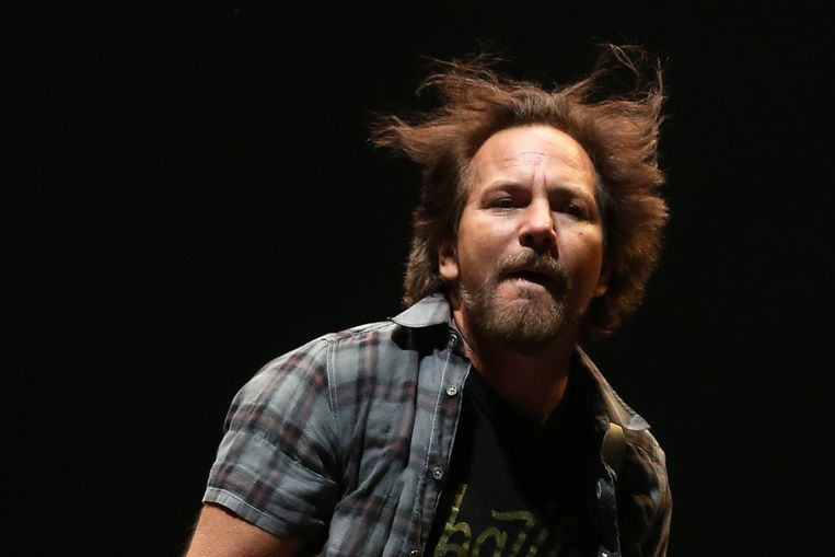 Pearl Jam-zanger Eddie Vedder.