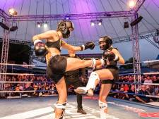 Kickboksen in Boerdonk voor strijd tegen kanker: 'Hij zei: Ik ga mijn gevecht niet winnen, als jij maar wél wint'