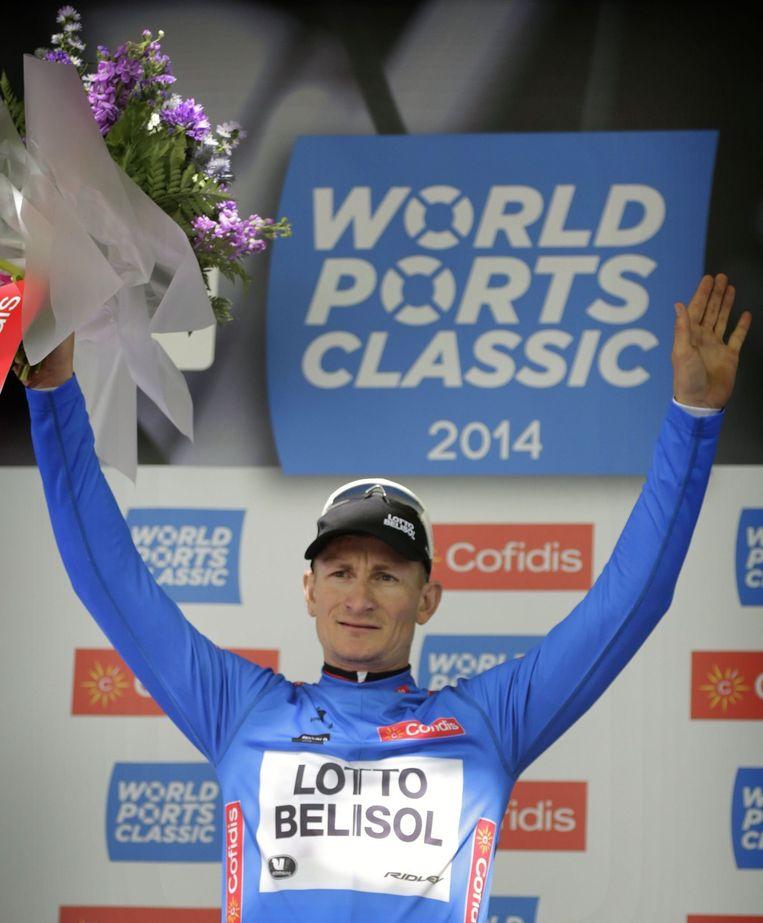 André Greipel won afgelopen zaterdag de eerste etappe in de World Ports Classic en is dé te kloppen man in de openingsetappes.