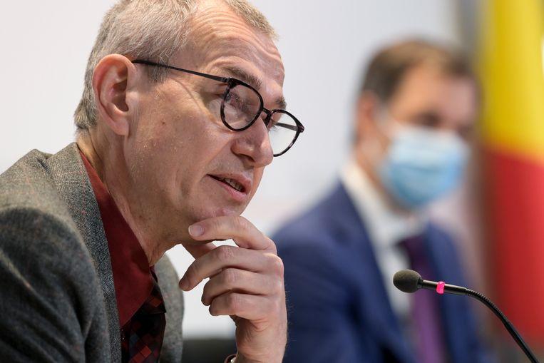 Frank Vandenbroucke (Vooruit), minister van Volksgezondheid. Beeld EPA