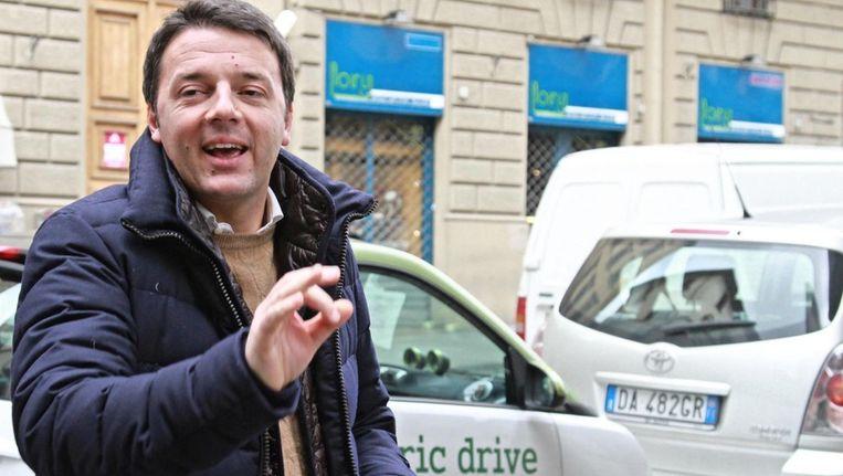 Matteo Renzi, nu nog burgemeester van Florence. Beeld epa