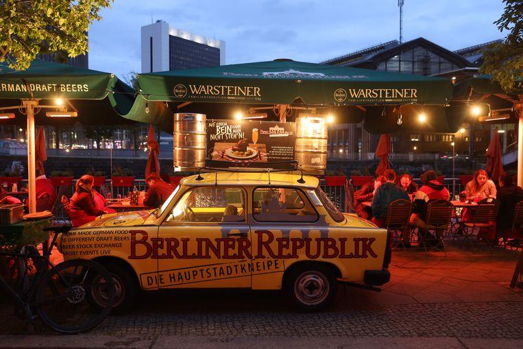 Een terrasje in Berlijn. Beeld Getty Images