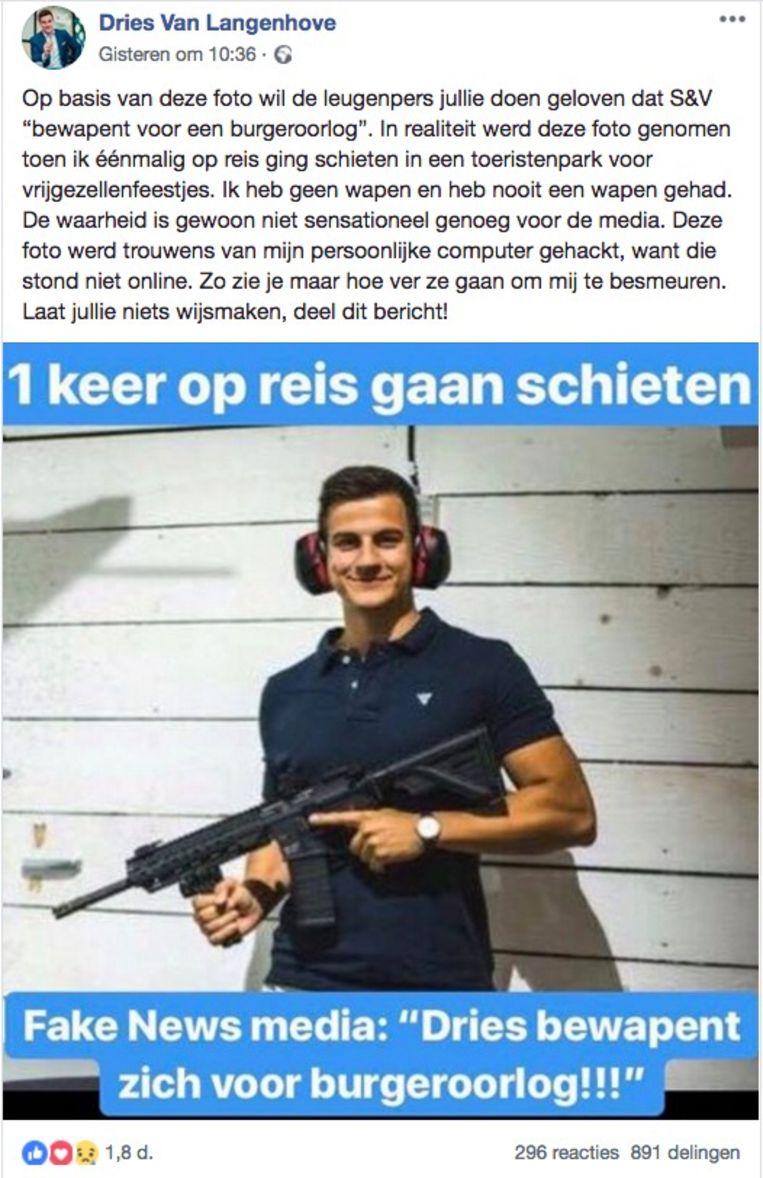 Dries Van Langenhove fb