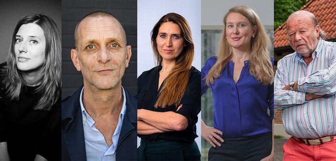 Reporters over hun vaccin - Katrien De Meyer - Sander Van Den Broecke - Sabine Vermeiren - Nadine Van Der Linden - Hugo Camps