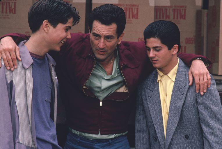 Robert De Niro (midden) in Goodfellas van Martin Scorsese. Beeld
