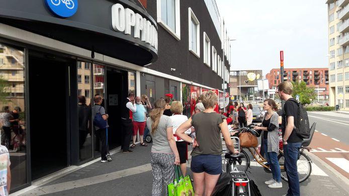 De Aldi was gevestigd in het Oppidium aan de Groningerstraat.