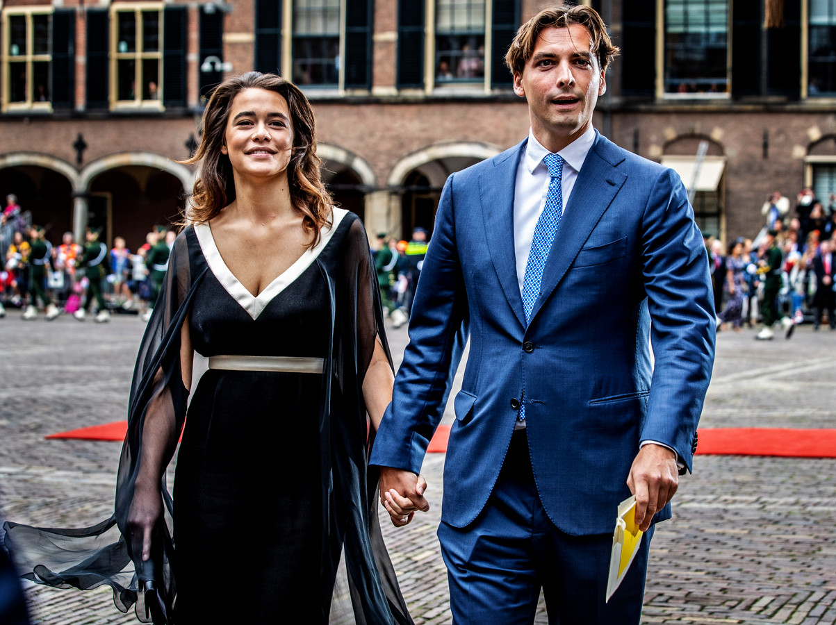 Thierry Baudet met vriendin Davide.