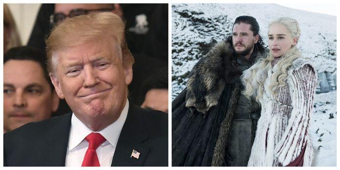 Trump heeft het aan de stok met HBO
