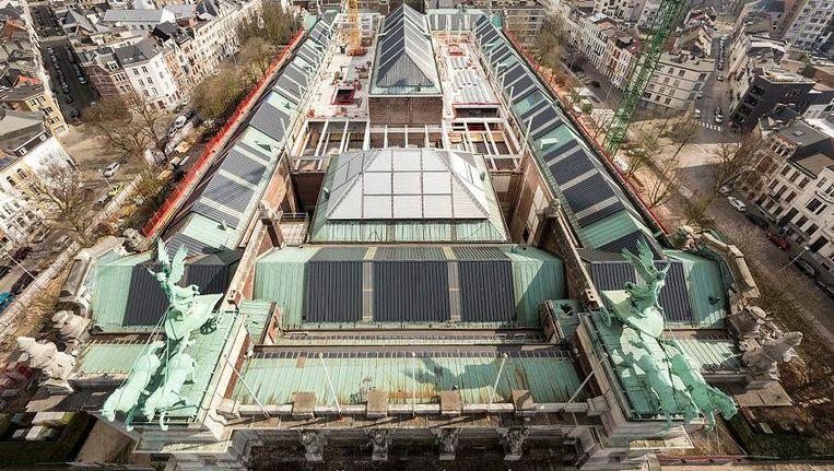 Het Koninklijk Museum voor Schone Kunsten in Antwerpen is één van de werven die vandaag de deuren openden.