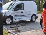 Botsing met bestelbusjes in Bavel, beide bestuurders gewond