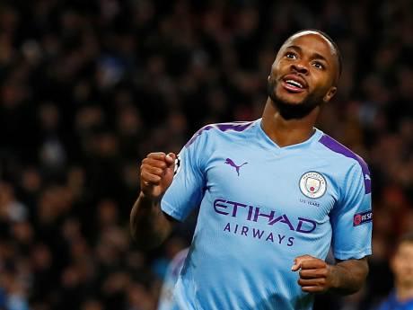 Manchester City met speels gemak langs Atalanta dankzij weergaloze Sterling
