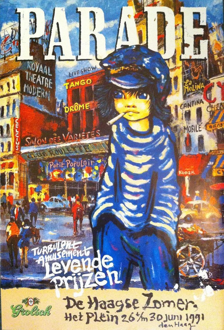Parade-affiche uit 1991. Beeld null
