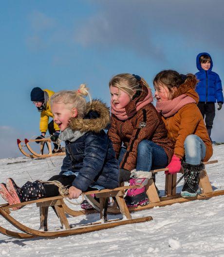 Wokpan of laminaat klaar en glijden maar: sneeuwpret galore bij de Tielse Wintergames