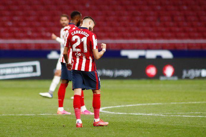 L'assist de Yannick Carrasco n'a pas suffi au bonheur de l'Atletico battu et sous pression en tête du championnat espagnol.