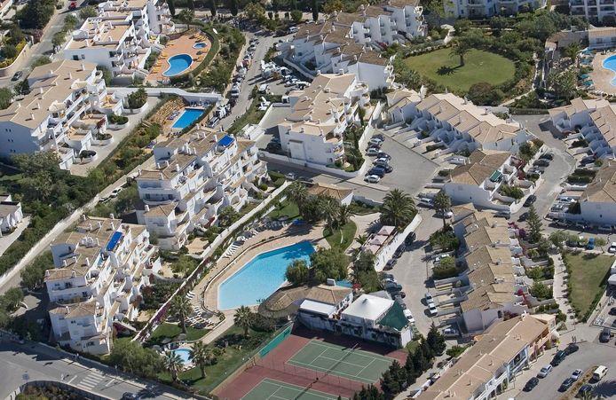 Maddie McCann a disparu de ce complexe hôtelier de Praia da Luz en 2007.