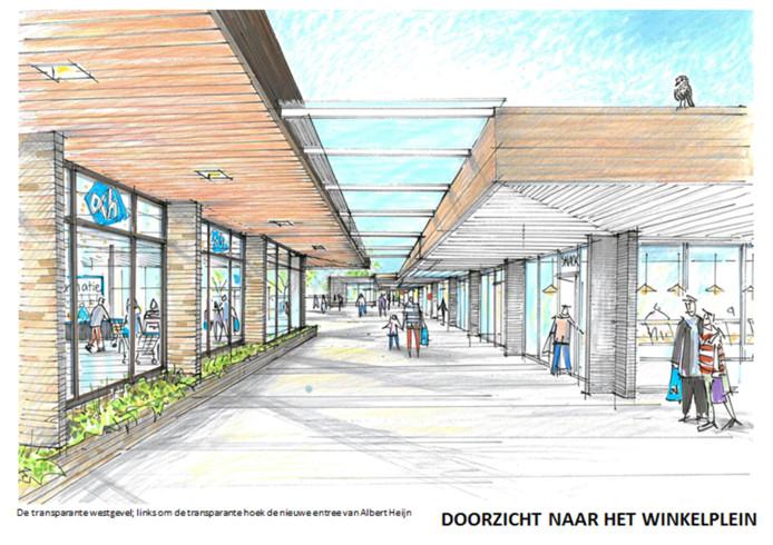 Het winkelcentrum De Thij krijgt een complete metamorfose en is straks 'een parel van de wijk'.