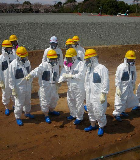 Weer problemen Fukushima: opslagtanks stromen over