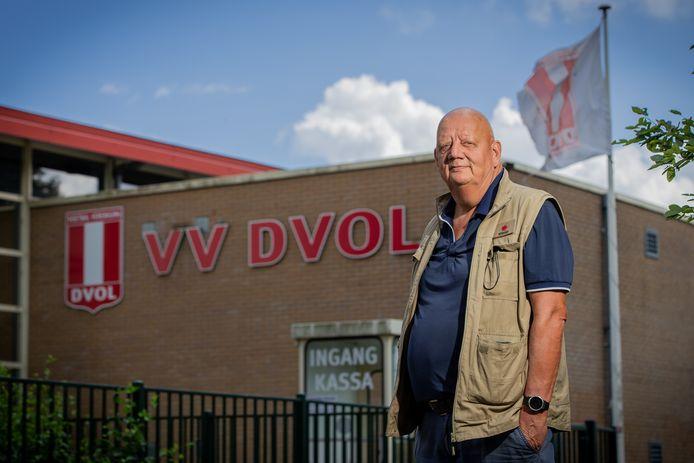 Stef de Grood, voorzitter van DVOL, over vernielingen op het sportpark.