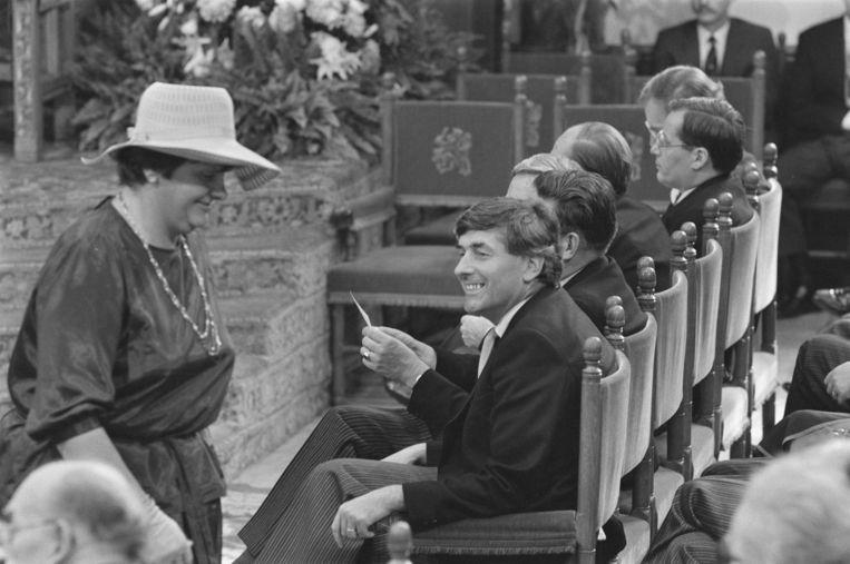 Erica Terpstra op Prinsjesdag 1977. Beeld Bogaerts, Rob / Fotocollectie Anefo