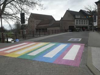 Scherpenheuvel-Zichem krijgt regenboogzebrapad
