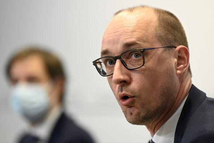 Minister Vincent Van Peteghem.