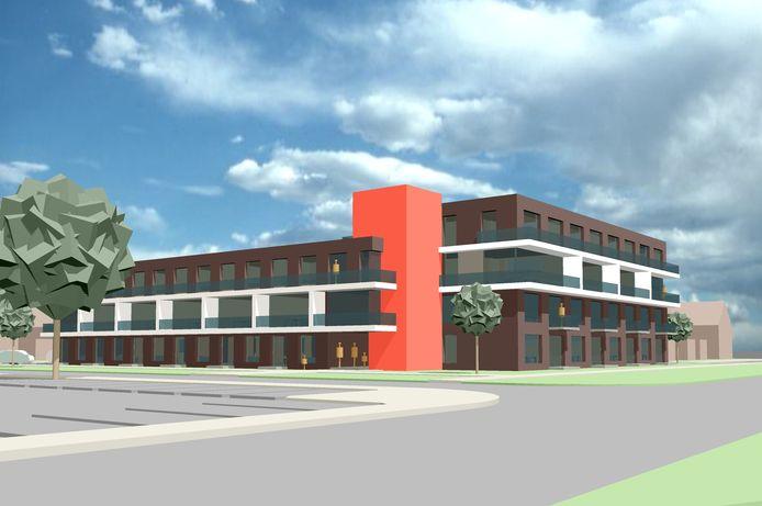 Nieuwbouw van het Bellamyhof op de plek van de vroegere Opstandingskerk aan de Bellamystraat in Terneuzen kan definitief doorgaan.