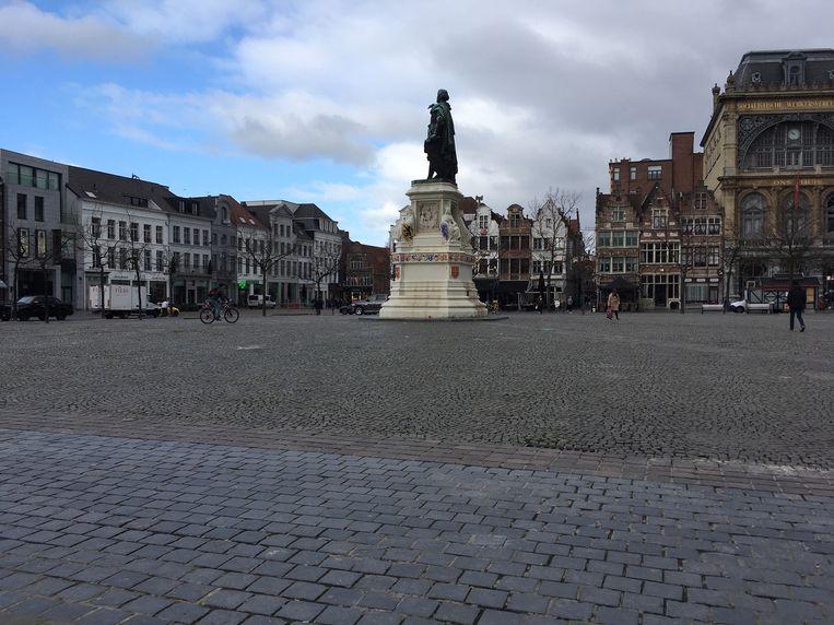 Geen markt in Gent, zeker tot 5 april.