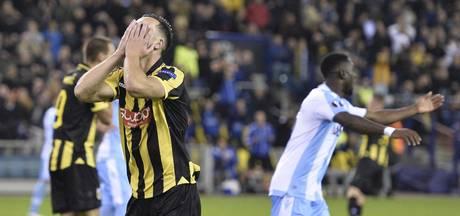 Vitesse krijgt in een spectaculaire wedstrijd Lazio niet op de knieën