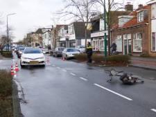 Fietser gewond bij botsing met auto op Zandstraat in Veenendaal