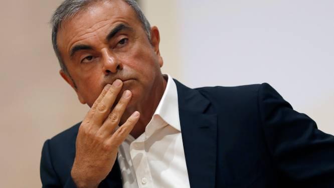Ex-topman Carlos Ghosn moet Nissan-Mitsubishi vijf miljoen euro terugbetalen