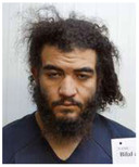 Bilal Al Marchohi, hier gefotografeerd na zijn gevangenneming in Syrië.