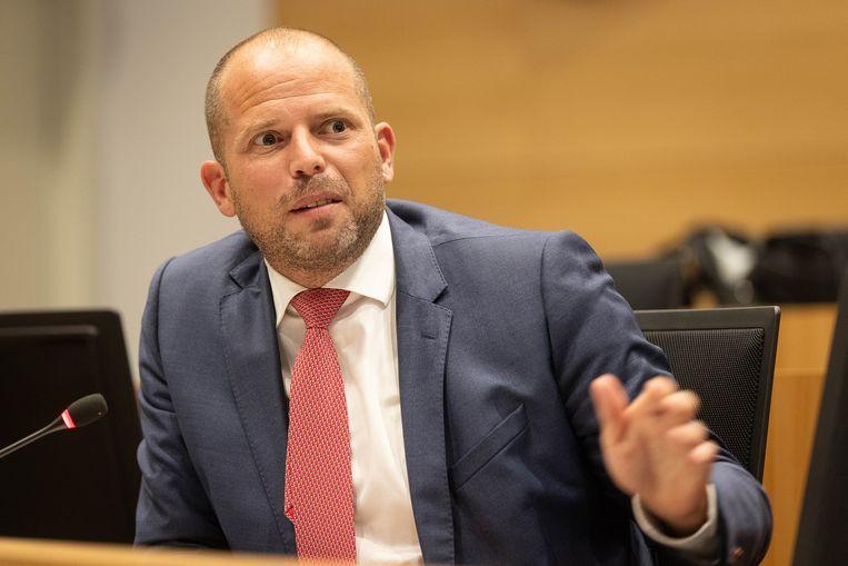 Kamerlid Theo Francken (N-VA). Beeld BELGA