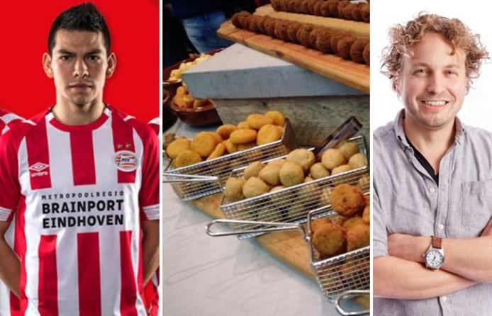 PSV's nieuwe shirtsponsor is Brainport, inclusief hightech-bedrijf Jumbo; en zien we nu een high friet of bittergarnituur?