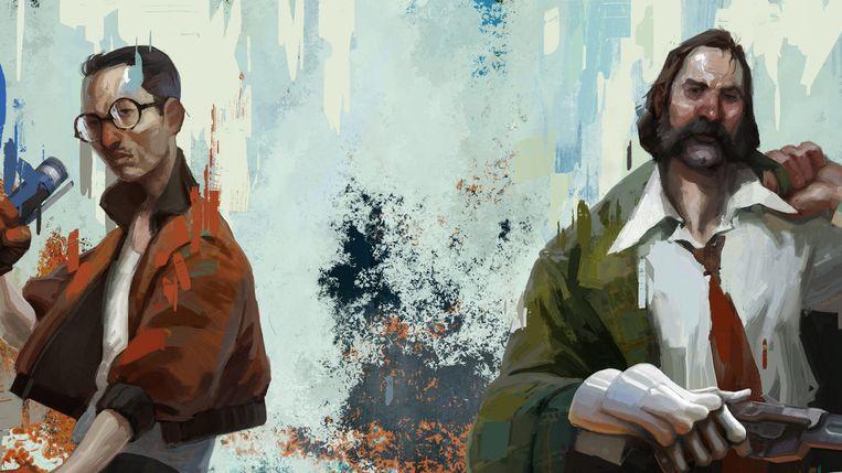 De schilder Aleksander Rostov is verantwoordelijk voor de aankleding van Disco Elysium.  Beeld