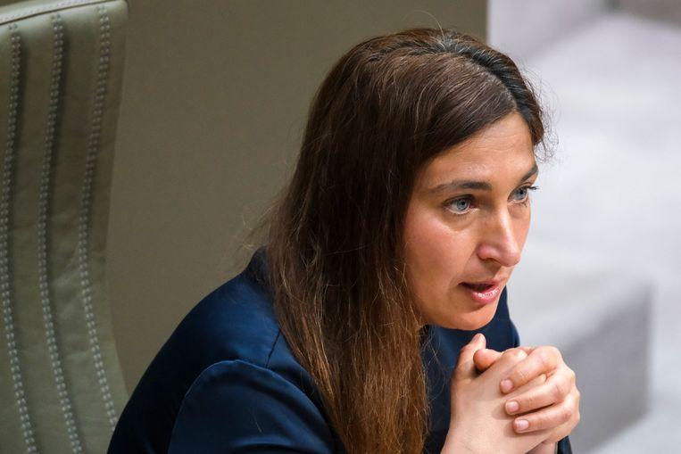Vlaams minister van Omgeving Zuhal Demir (N-VA) Beeld BELGA