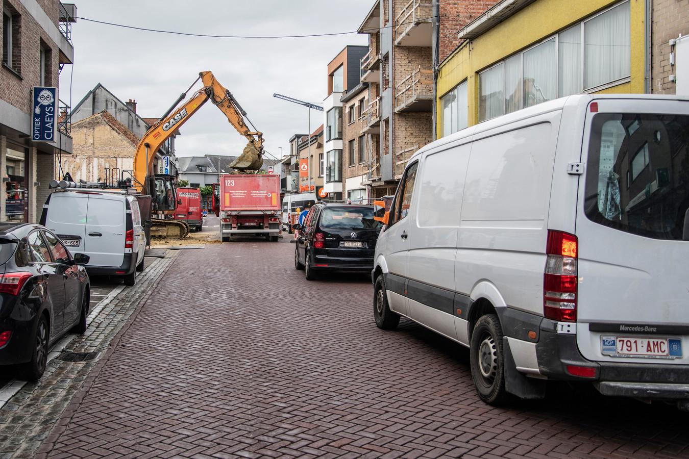De situatie in de Kerkstraat zorgde de voorbije maanden voor veel wrevel.