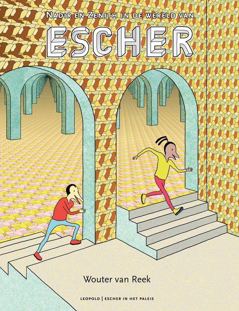 Nadir en Zenith in de wereld vanEscher. Beeld Wouter van Reek, Uitgeverij Leopold