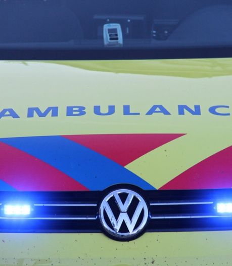 Automobilist raakt gewond bij eenzijdig ongeval op A58