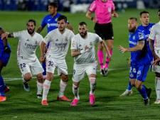 Barcelona heeft titel in eigen hand na gelijkspel Real Madrid bij Getafe