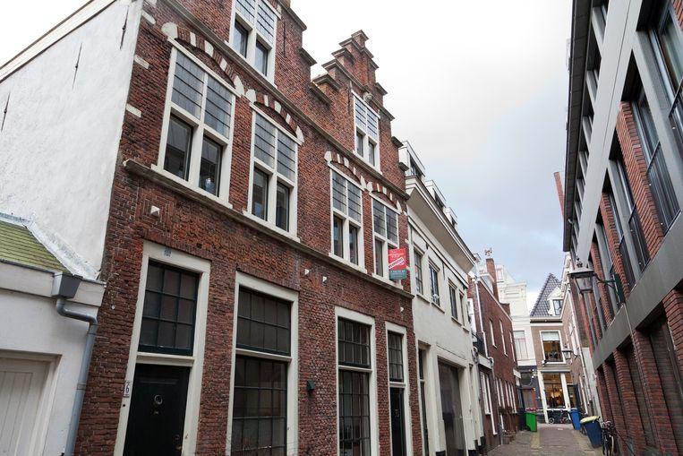 Voor dit huis in de Berkenrodesteeg in Haarlem (300.000 euro) waren veel Amsterdamse geïnteresseerden Beeld Het Parool