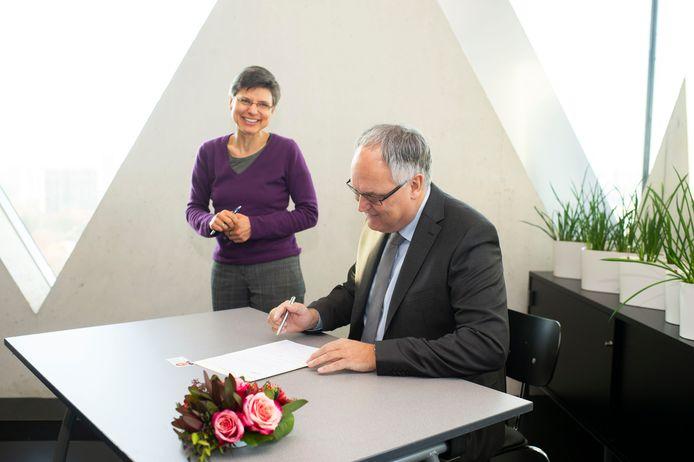 Philip Cools heeft de eed afgelegd als nieuwe burgemeester van Brasschaat.
