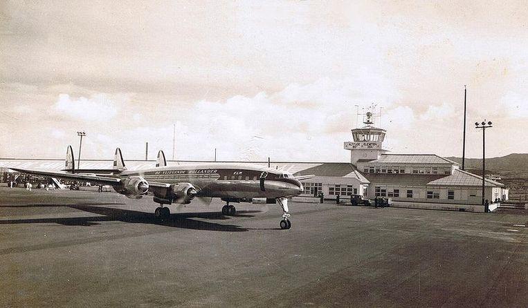 Hetzelfde model vliegtuig als de Flying Tiger Line Flight 739. Beeld Wikipedia
