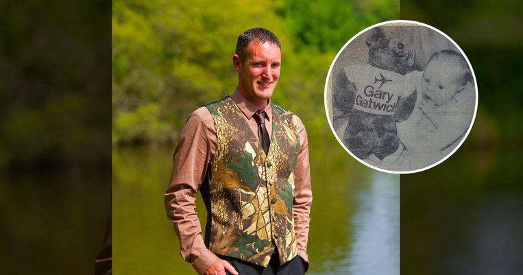 Steve Hydes, ook wel bekend als 'Gary Gatwick'.